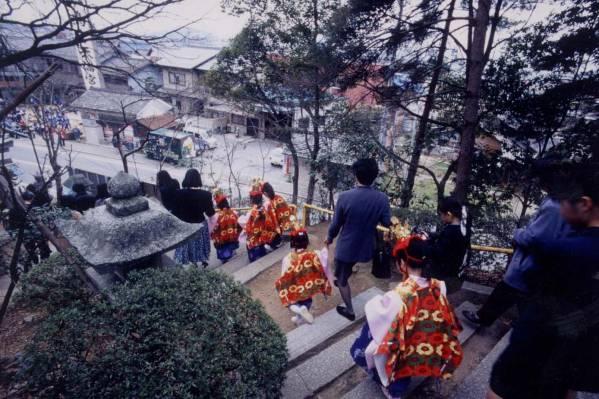 荒神山神社の水無月祭